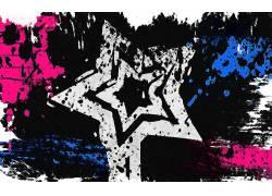 明星,数字艺术,选择性着色,抽象17976
