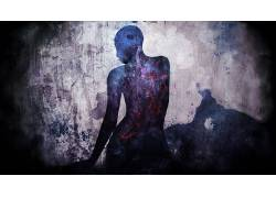 艺术品,抽象,幽灵般的272704
