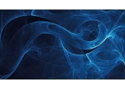 数字艺术,抽象,蓝色324212