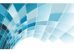 数字艺术,CGI,极简主义,蓝色,抽象,广场,线,白色背景,3D278832