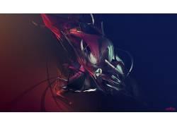 贾斯汀马勒,梯度,抽象,数字艺术,形状280482图片