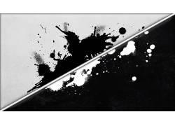 数字艺术,抽象,油漆飞溅,线,单色,垃圾,艺术品,黑色,白色268219图片