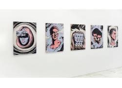 插图,白色的墙壁,超现实主义,白色背景,面对,抽象505871