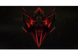 贾斯汀马勒,红,黑色,黑暗,橙子,抽象,3D441980