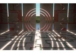 科幻小说,抽象,裸体688569