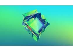 贾斯汀马勒,面,抽象,梯度164041图片