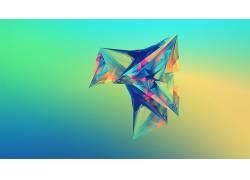 贾斯汀马勒,面,抽象,梯度164080图片
