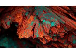 程序矿物,矿物,华美,抽象,数字艺术,艺术品,CGI,给予257377