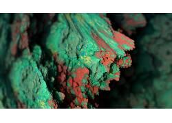 程序矿物,矿物,抽象,景深,CGI,艺术品,数字艺术257365