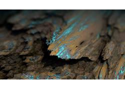 程序矿物,矿物,棕色,艺术品,抽象,数字艺术,景深257370