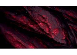 程序矿物,矿物,红,黑暗,抽象,CGI,给予,数字艺术,艺术品257367图片