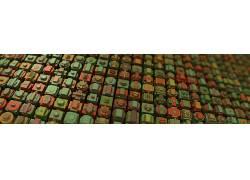 模式,抽象,程序生成,3D,Mandelbulb 3D,立方体,几何165221图片