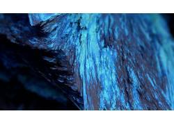 程序矿物,矿物,蓝色,景深,抽象,给予,CGI,艺术品,数字艺术257372