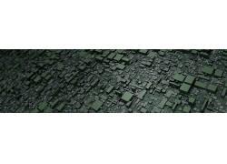 模式,抽象,程序生成,3D,Mandelbulb 3D,立方体,数字艺术,艺术品,