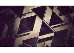 摄影,数字艺术,抽象,三角形,几何,艺术品32546