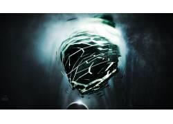 数字艺术,黑暗,抽象,3D154208图片