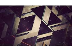 艺术品,幻想艺术,数字艺术,三角形,抽象216090