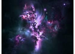 空间,抽象,太空艺术,数字艺术51345