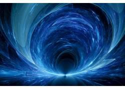 迷幻,抽象,蓝色650186