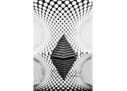 数字艺术,单色,抽象,金字塔,反射619548