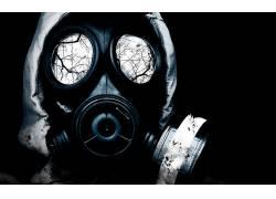 防毒面具,抽象,放射性的139462