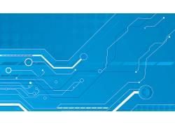 蓝色,技术,电路,抽象,数字艺术664391