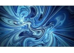 蓝色,抽象,数字艺术687995图片
