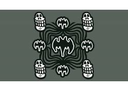 蝙蝠侠标志,抽象,动画片,哥特426381