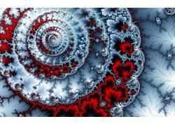 螺旋,抽象,分形161812