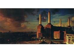 平克・弗洛伊德(乐队名,动物,伦敦,猪,专辑封面,巴特西410504