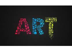 幻想艺术,黑色,头骨,火,企鹅,手,动物,相机,吃豆人,吃豆子,松树,