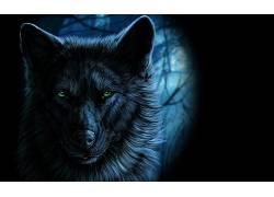 动物,幻想艺术,狼,艺术品378752