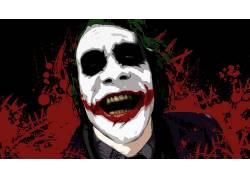电影,蝙蝠侠,黑暗骑士,滑稽角色,MessenjahMatt,油漆飞溅52031
