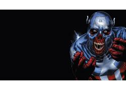 美国队长,电影,漫威漫画,超级英雄,红色的头骨,金刚狼,老人洛根49