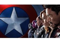 美国队长,美国队长:内战,电影,钢铁侠,黑寡妇,斯嘉丽约翰逊,小罗