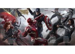 美国队长,美国队长:内战,钢铁侠,蚂蚁人,黑豹,电影,漫威漫画,鹰