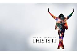 迈克尔杰克逊,轮廓,电影,简单的背景204481