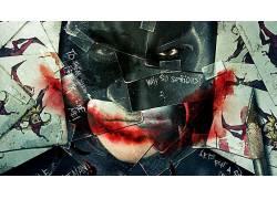 电影,蝙蝠侠,黑暗骑士,牌,镶嵌52026
