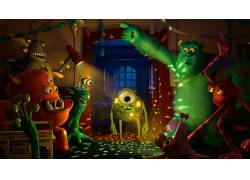 迪士尼,怪物公司。,皮克斯动画工作室,电影5998