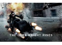 黑暗骑士崛起,猫女,DC漫画,Batpod,安妮・海瑟薇,电影,Selina凯尔