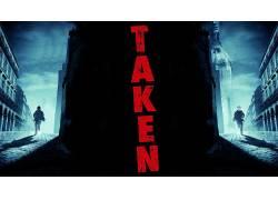 男人,演员,利亚姆・尼森,电影,电影海报,采取,建造,妇女,街,阴影,
