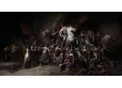 画画,马,人,战争,骑士,士兵,剑,矛,神奇女侠,电影608584