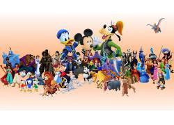 电影,迪士尼,唐老鸭,米老鼠,高飞,王国的心50563