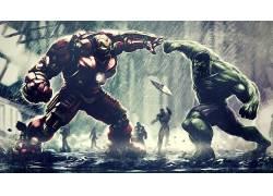 钢铁侠,废船,奇迹电影宇宙,奇迹漫画,超级英雄,复仇者联盟:奥创