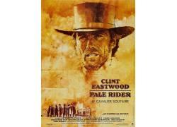 苍白的骑士,克林特・伊斯特伍德,1985年,电影,电影海报29327