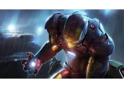 钢铁侠,托尼斯塔克,惊奇的电影宇宙,幻想艺术,数字艺术,漫威漫画2