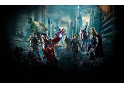 英雄,雷神,钢铁侠,废船,复仇者,鹰眼,黑寡妇,美国队长,尼克怒,斯