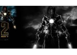 电影,钢铁侠2,钢铁侠,托尼斯塔克,米奇洛克,惊奇的电影宇宙,电影