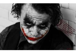 蝙蝠侠,漫画艺术,黑暗骑士,电影,滑稽角色,选择性着色,希斯莱杰10