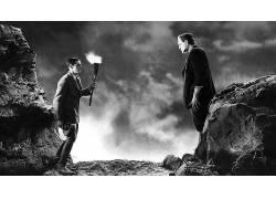 科学怪人的怪物,电影,单色,哥特233320
